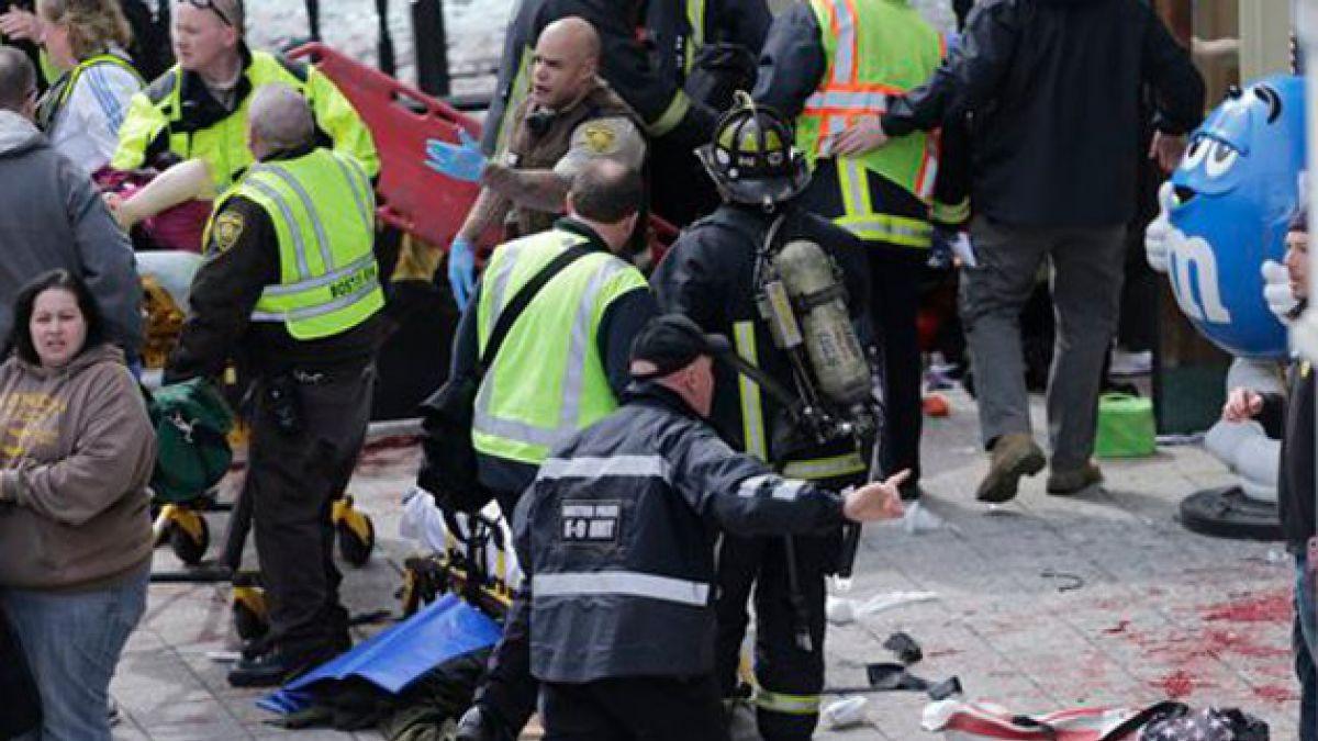 Confirman 2 muertos y al menos 23 heridos por explosiones en Boston