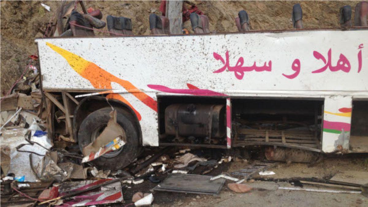 Tragedia carretera en Marruecos deja 42 muertos