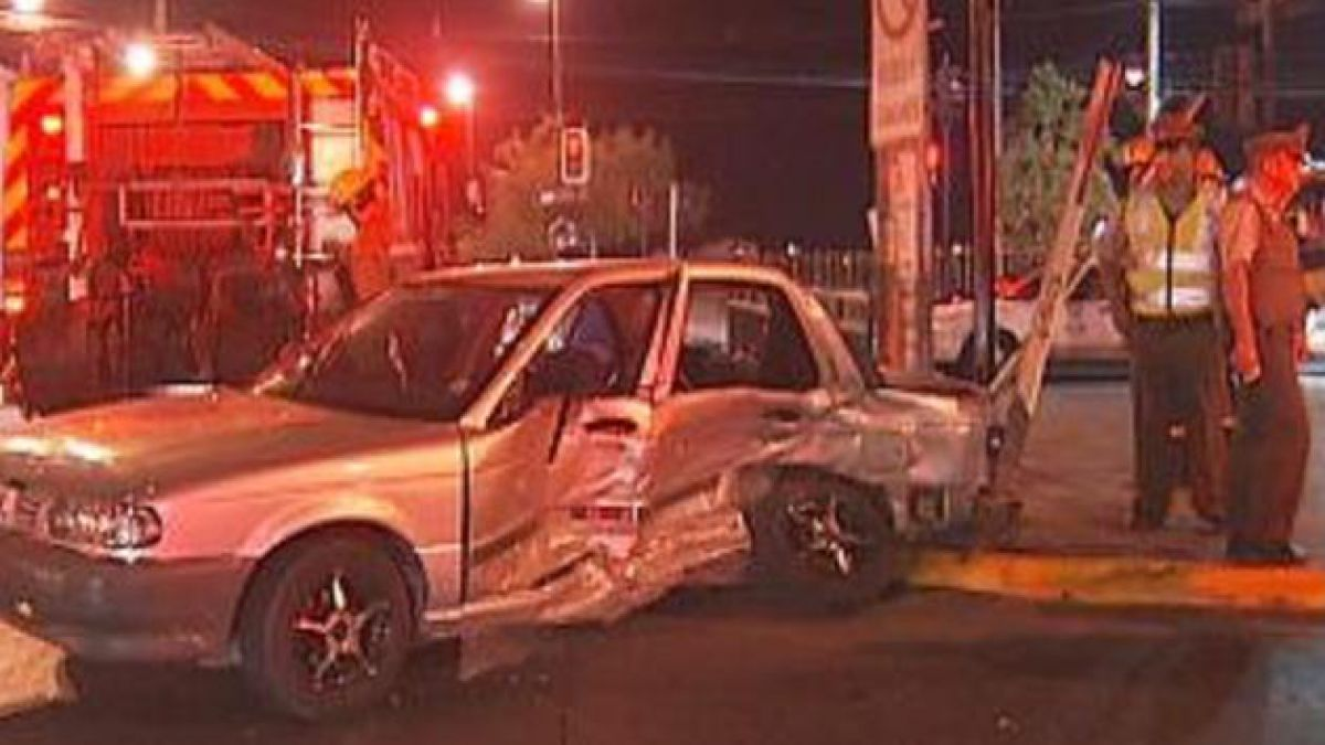 Seis heridos en accidente de tránsito en Puente Alto