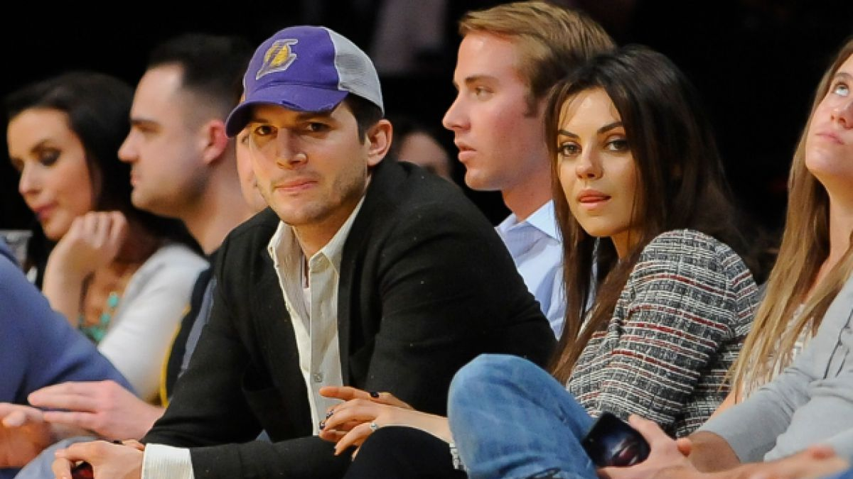 Confirman que Ashton Kutcher y Mila Kunis serán padres