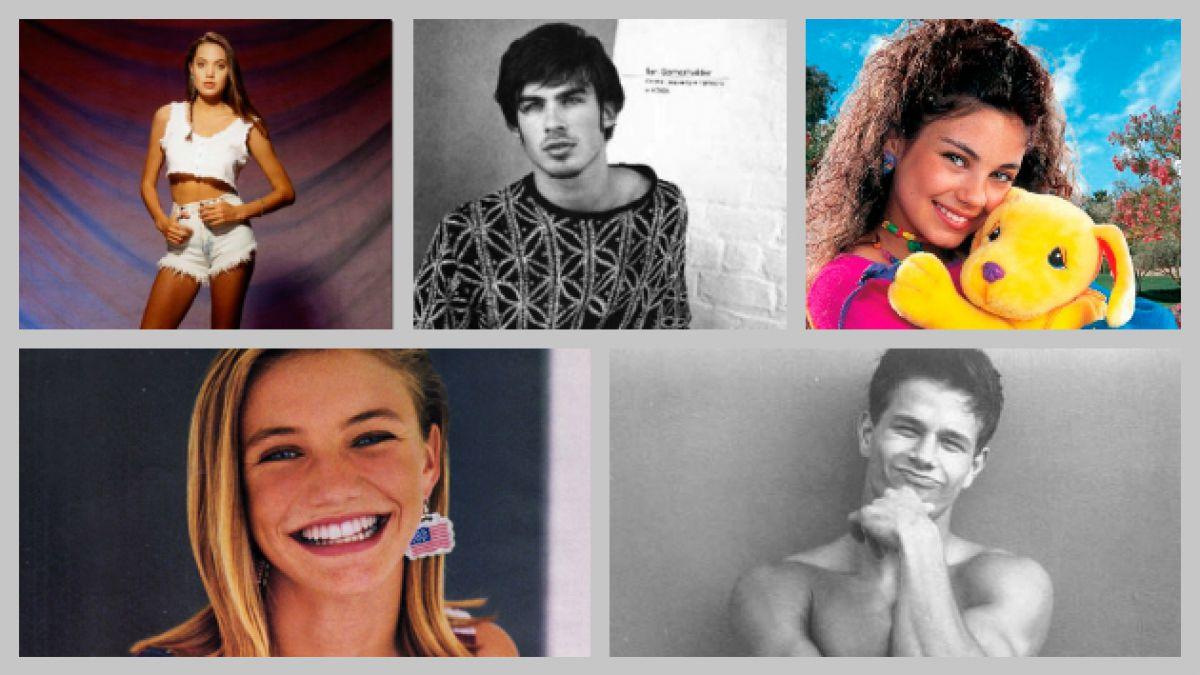 [FOTOS] 10 actores de Hollywood y sus inicios como modelos