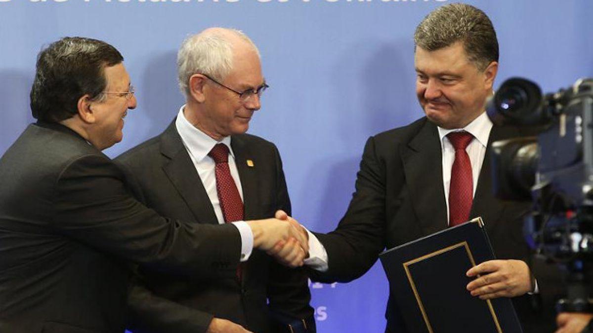 Unión Europea firma histórico acuerdo de cooperación con Ucrania