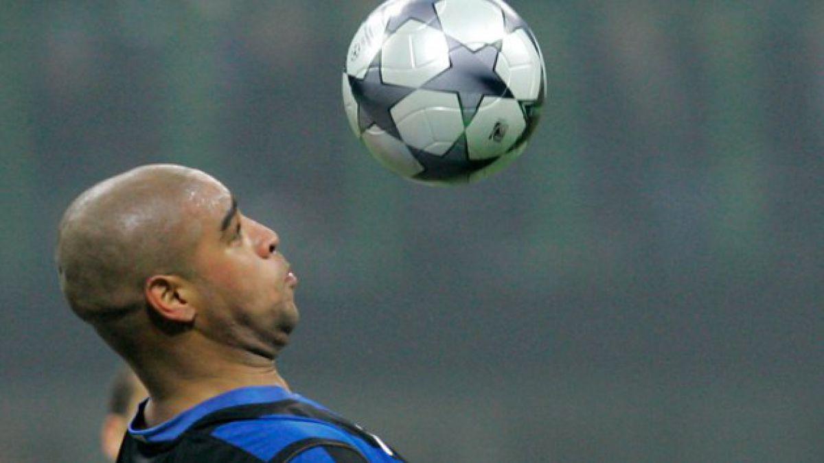 Adriano vuelve al fútbol luego de dos años