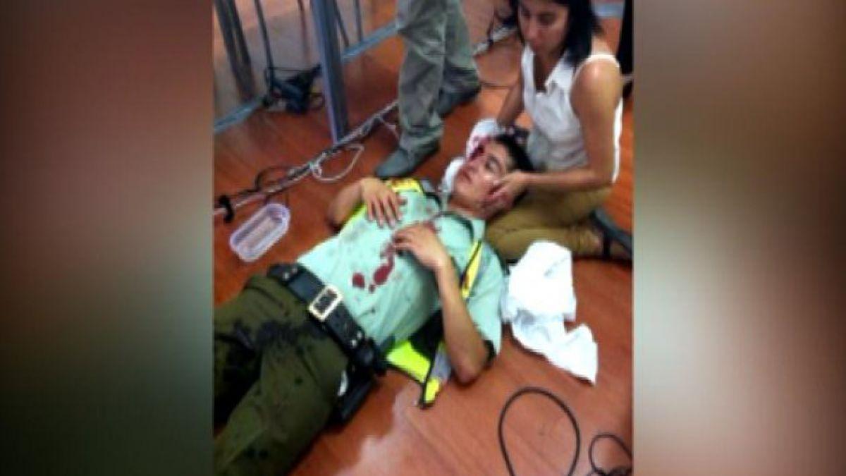 Carabineros resultan heridos tras protestas de trabajadores portuarios