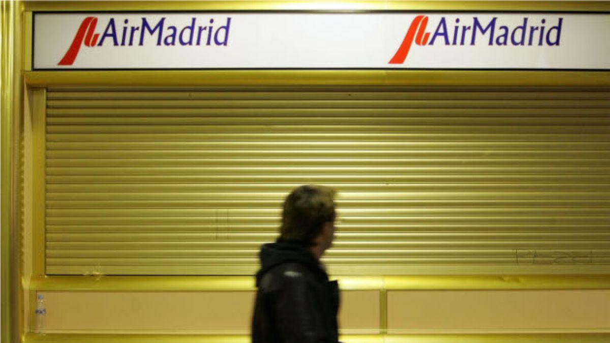Condenan a representantes de Air Madrid tras demanda de consumidores
