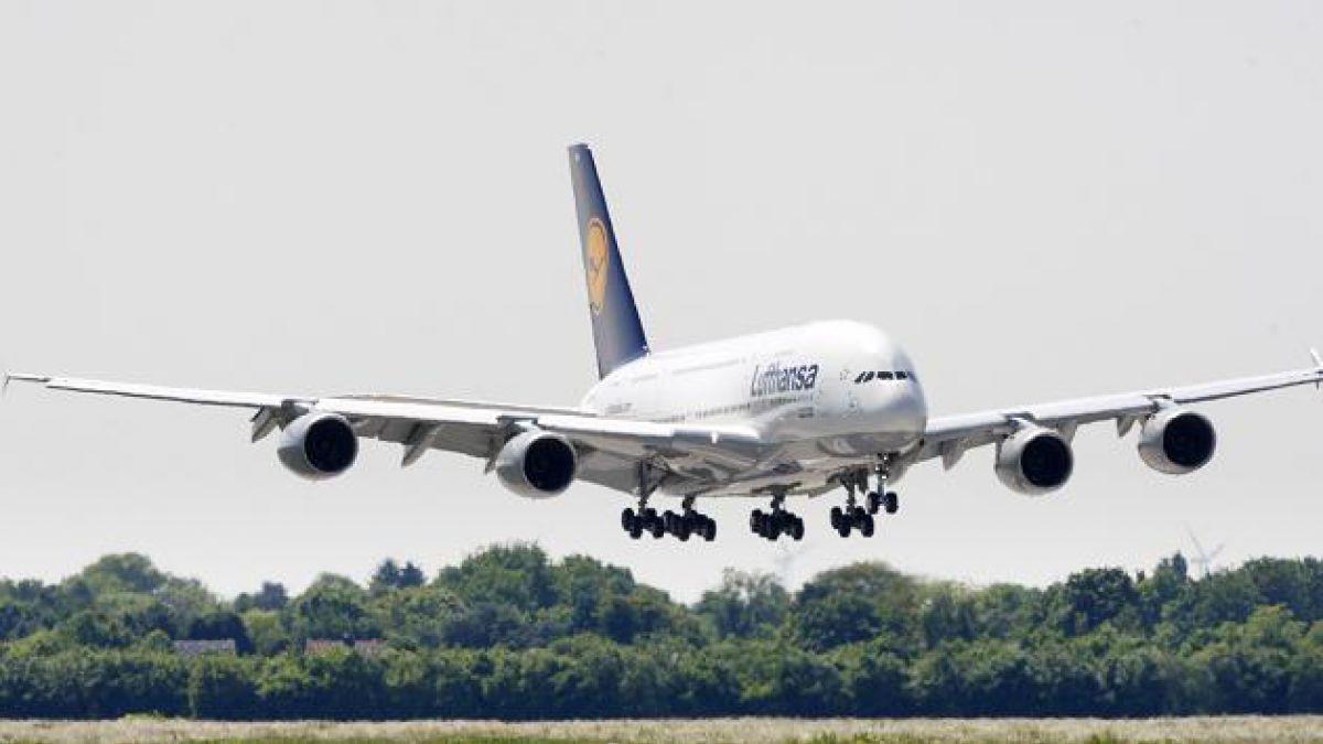Llegó a Chile el Airbus A380