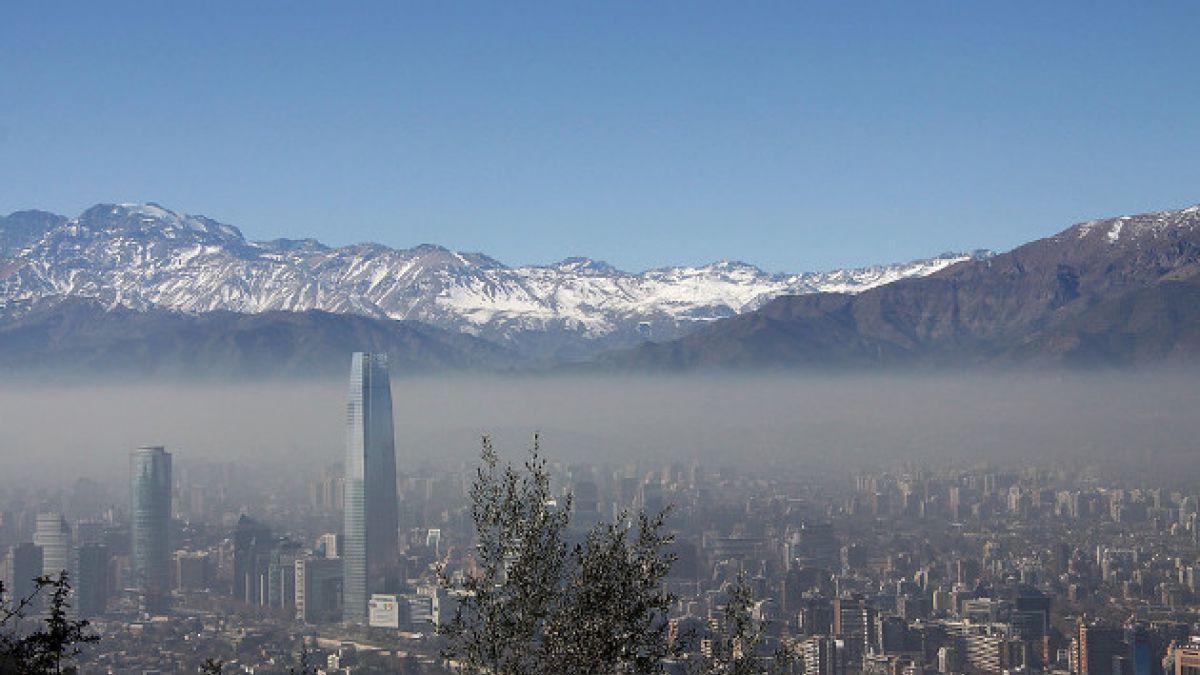 Decretan alerta ambiental preventiva en Región Metropolitana