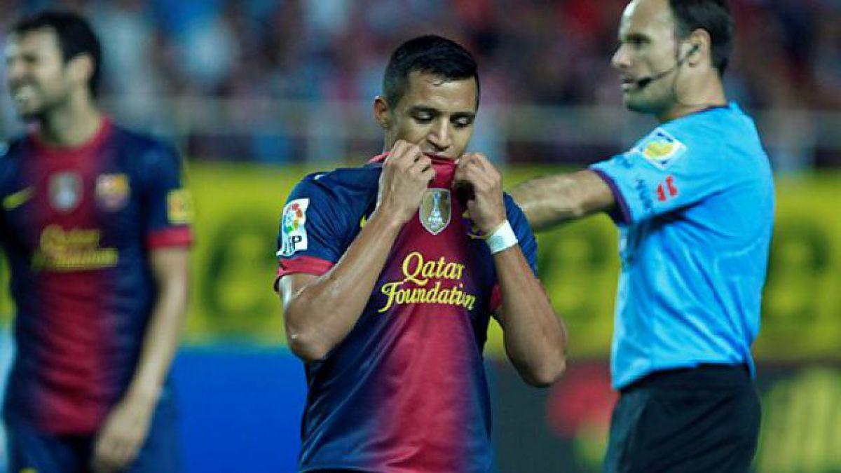 Alexis Sánchez es el mejor del once ideal de la Premier League en Brasil 2014