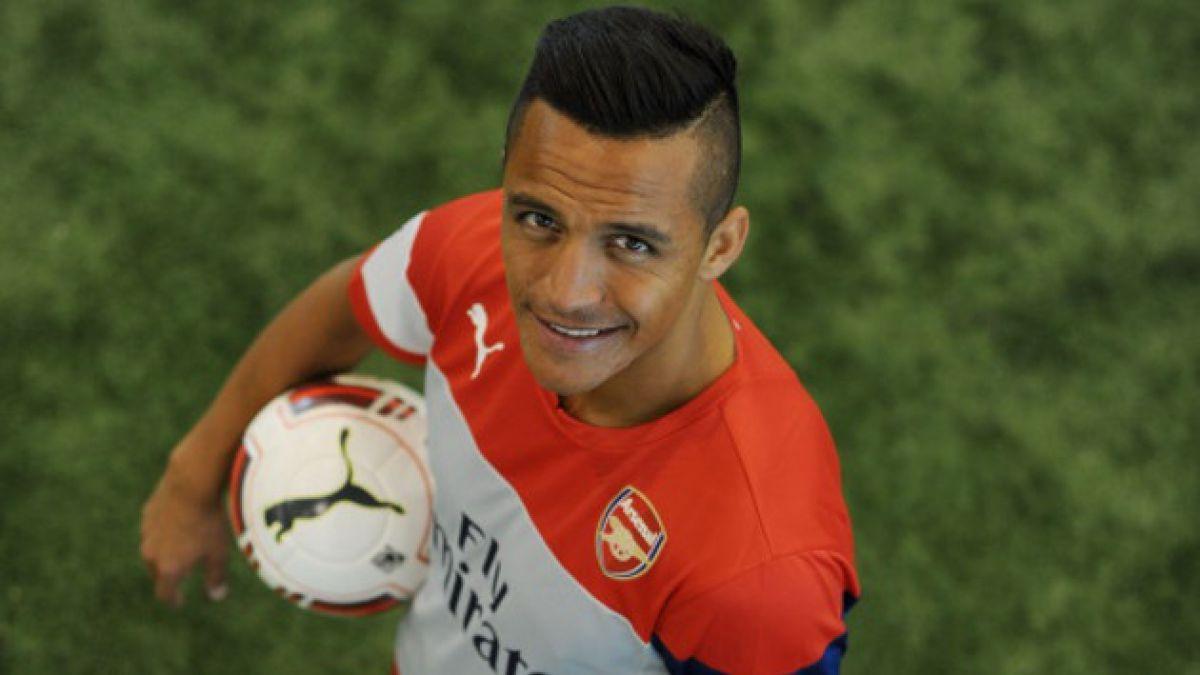 Un solitario Alexis Sánchez comienza a entrenar este martes en las instalaciones de Arsenal