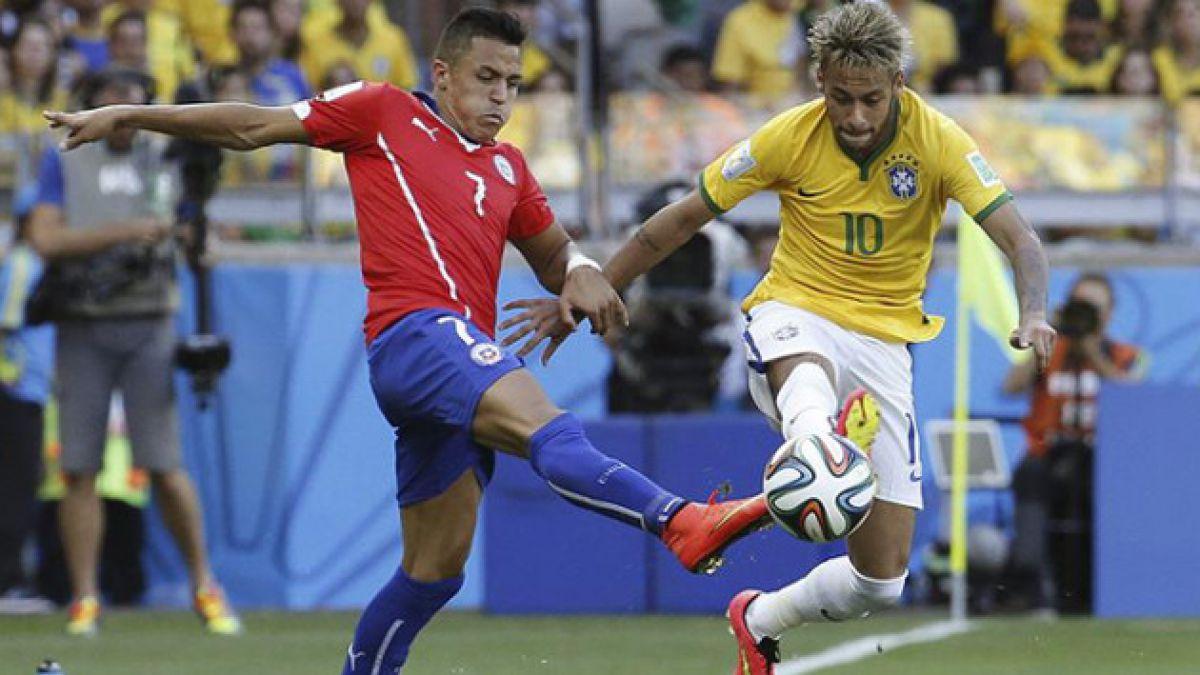 """Neymar recuerda Chile-Brasil: Si perdíamos, Alexis iba """"a burlarse de mí"""""""