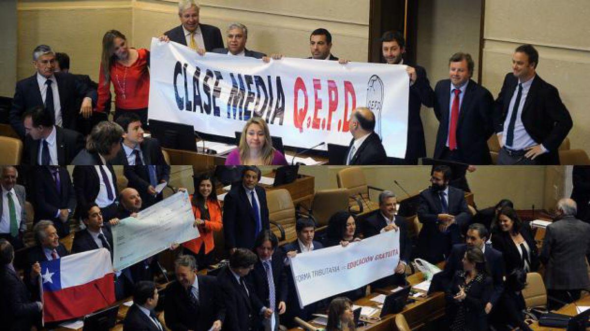 Los votos de la reforma tributaria en la Cámara de Diputados