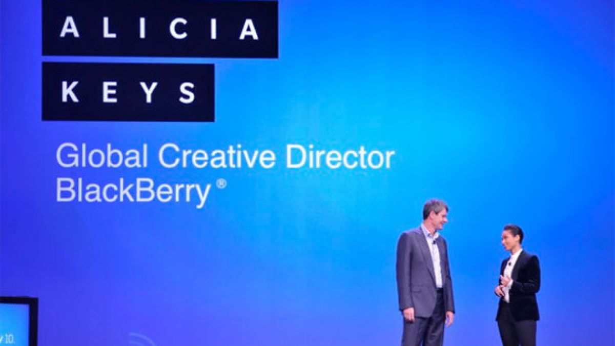 Alicia Keys, nueva Directora Creativa Global de Blackberry