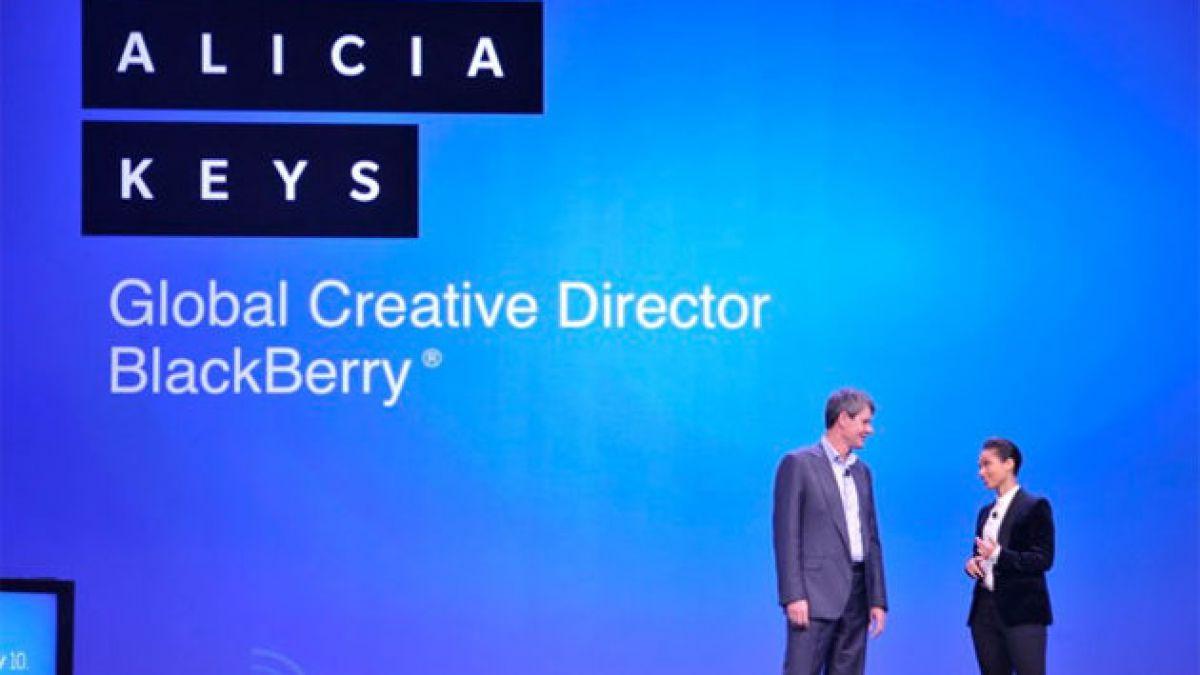 Alicia Keys, nueva Directora Creativa Global de Blackberry