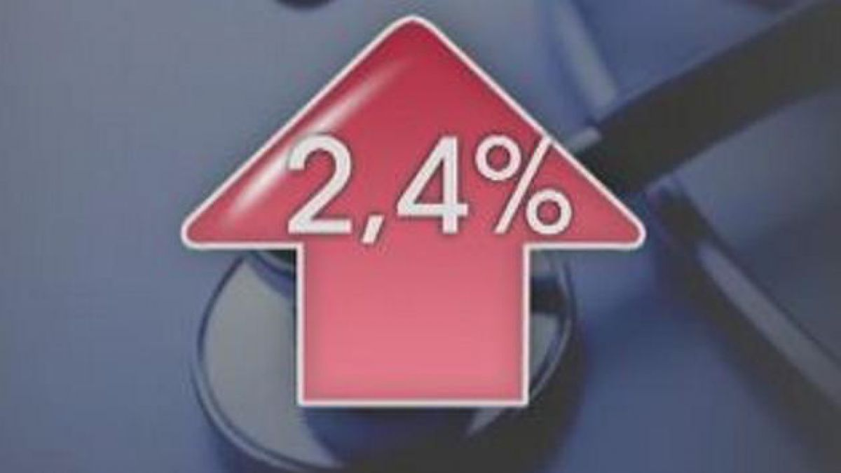 Isapres reajustarán 2,4% promedio los planes de salud