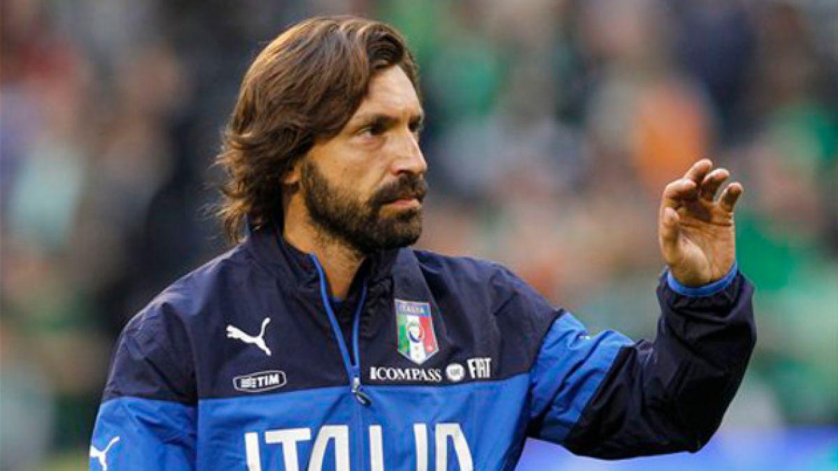 Pirlo abandona la Juventus y ficha por el New York City FC