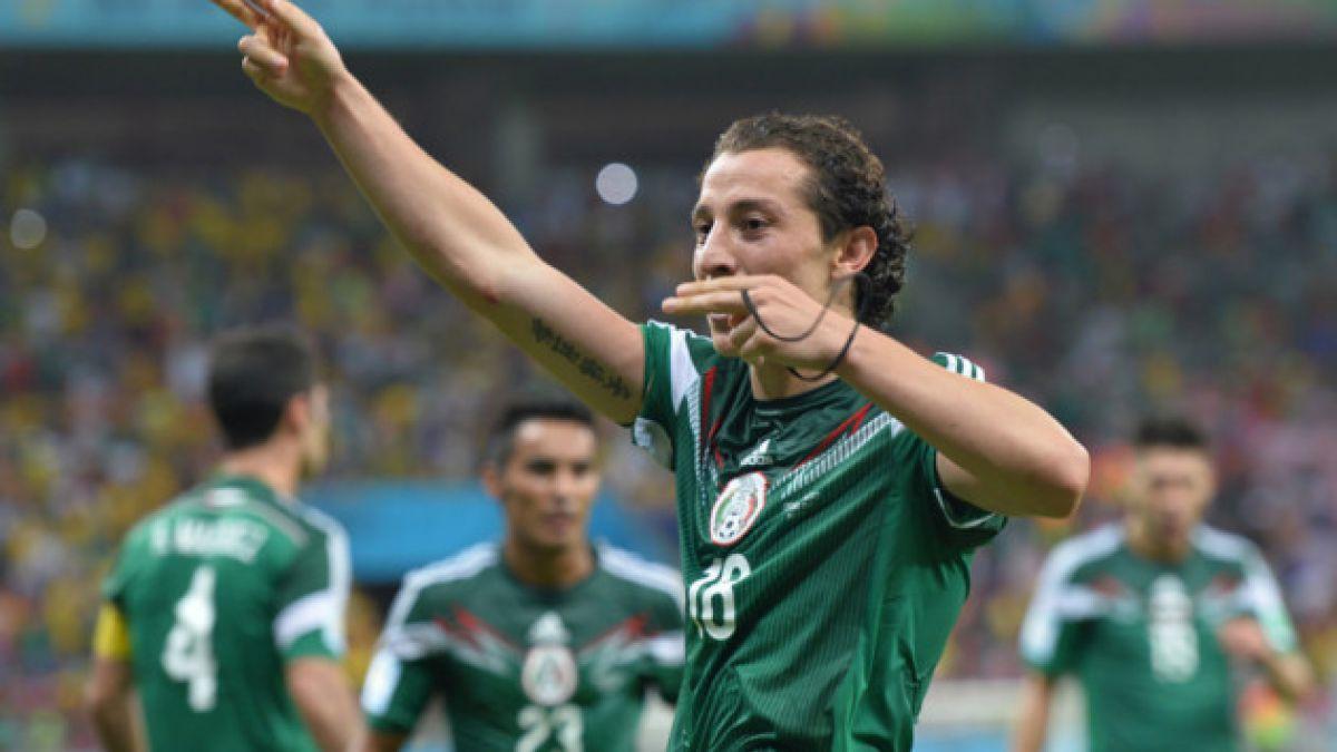Volante mexicano Andrés Guardado asume que Chile será favorito el sábado