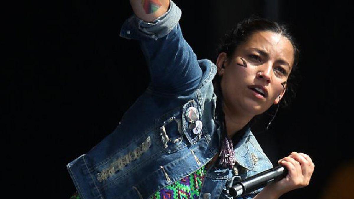 Ana Tijoux responde a quienes la llamaron cara de nana en Lollapalooza 2014