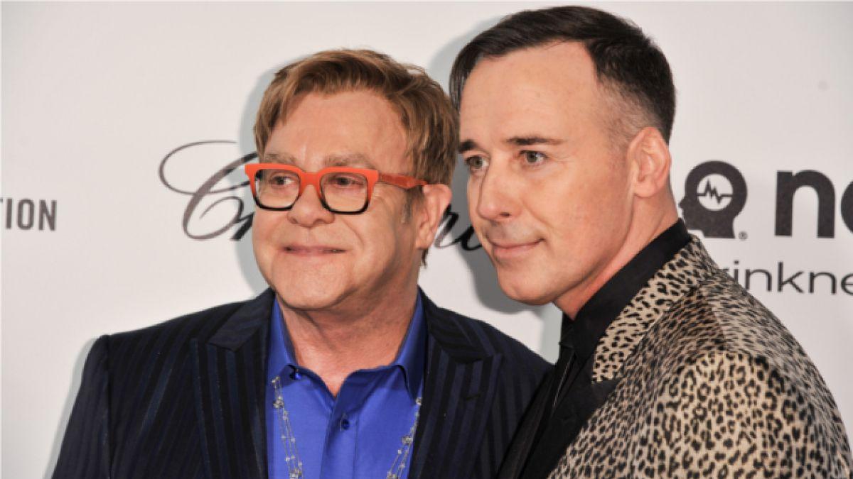 Elton John se casará con su novio tras 20 años de relación
