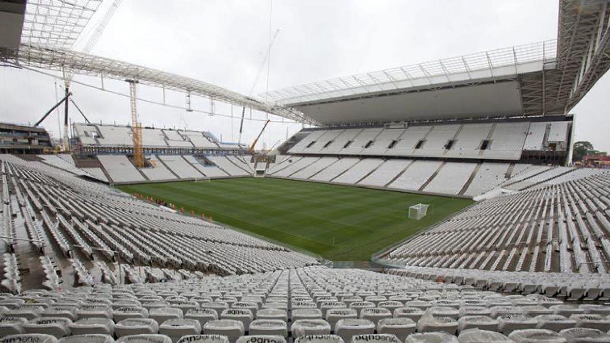 Estadio que albergará el Chile-Holanda en Brasil 2014 fue entregado con obras sin terminar