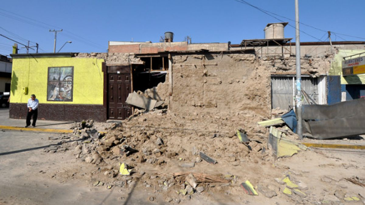 Arica resultó con serios destrozos y daños estructurales en sus viviendas
