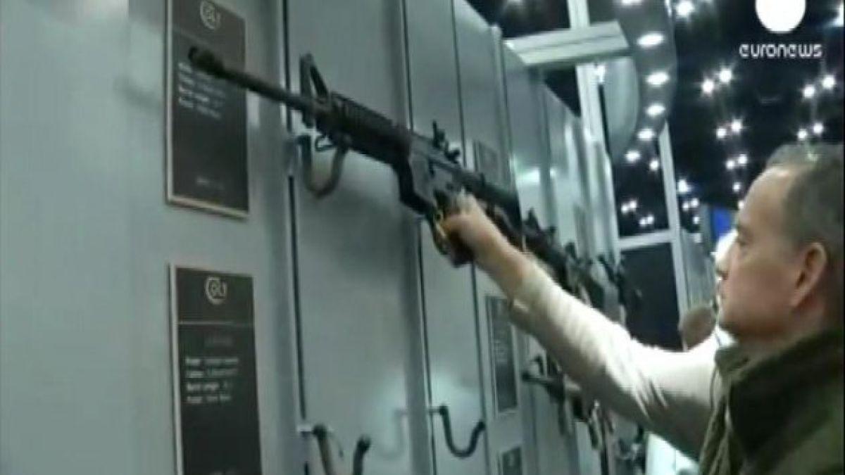 Realizan convención anual de armas en pleno debate en EE.UU.
