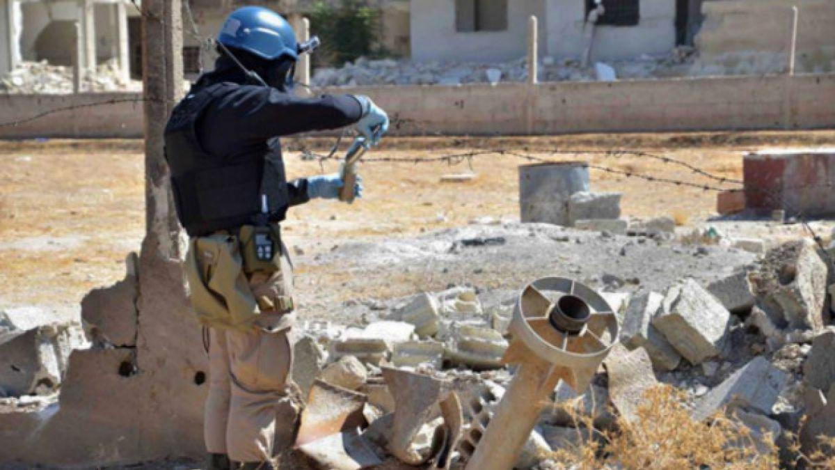 Revelan que 92,5% de los materiales de armas químicas han sido retirados de Siria