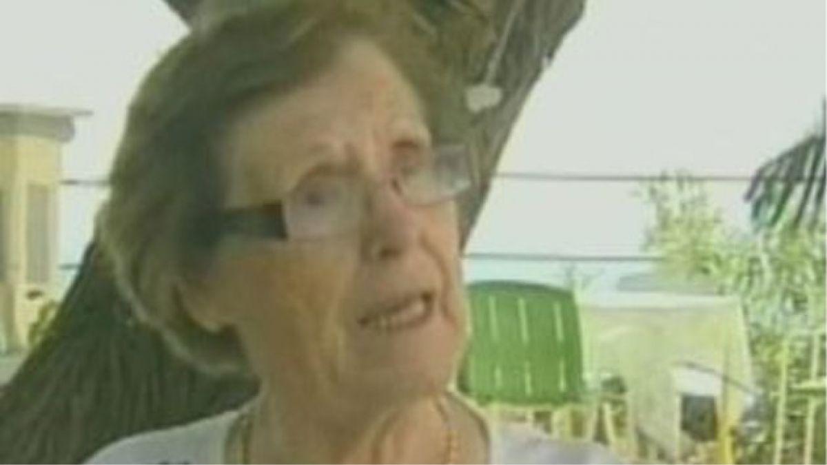 """Anciana que arruinó obra está con """"ataque de ansiedad"""""""