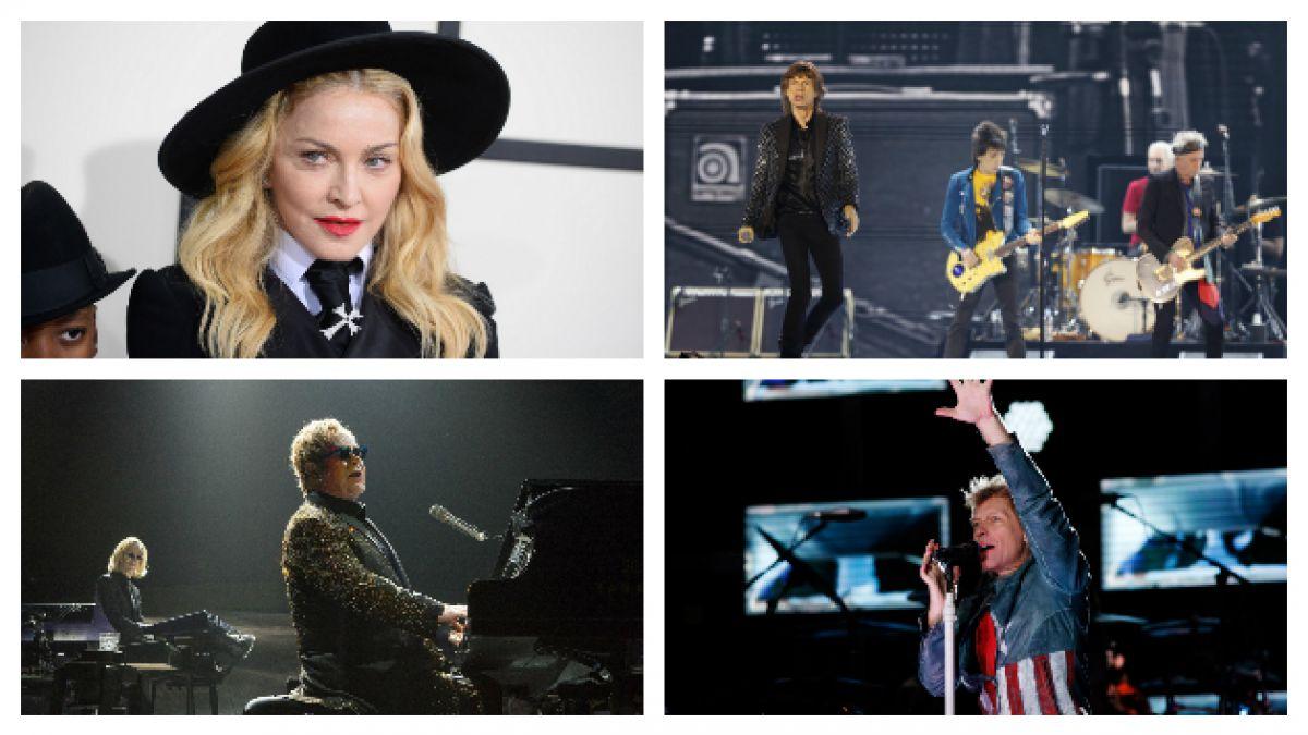 Los 10 artistas que más dinero han recaudado en conciertos entre 1990 y 2014