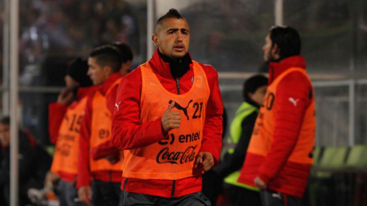 Las alternativas de Chile para el debut frente a Australia con o sin Vidal