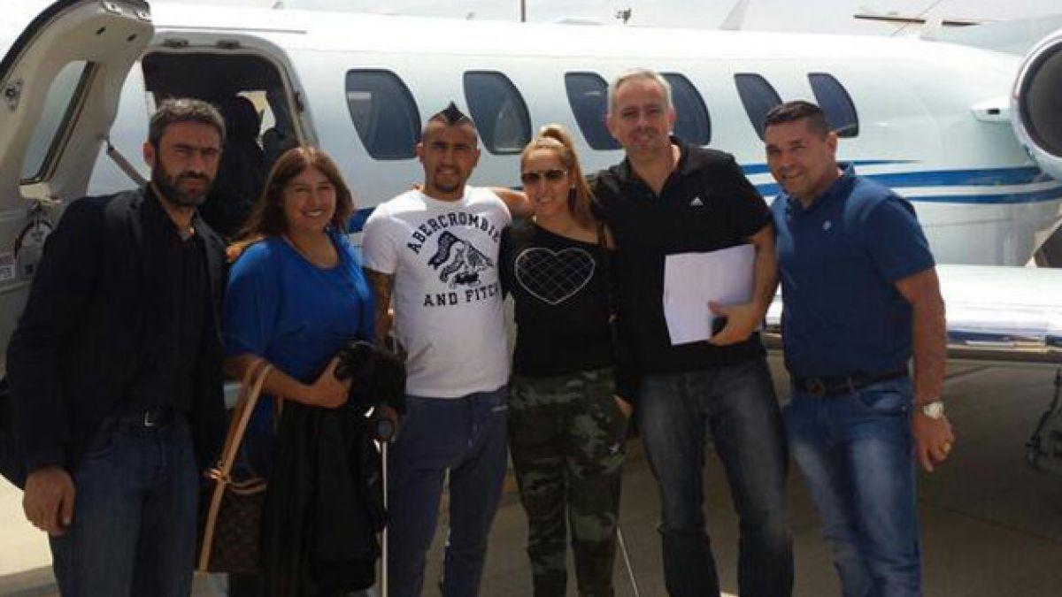Arturo Vidal en su regreso a Italia: Va a salir todo bien