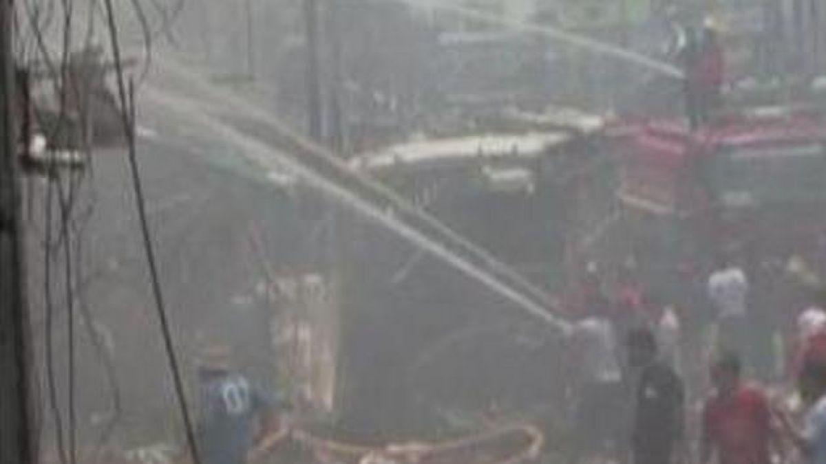 Atentados dejan nueve muertos y decenas de heridos