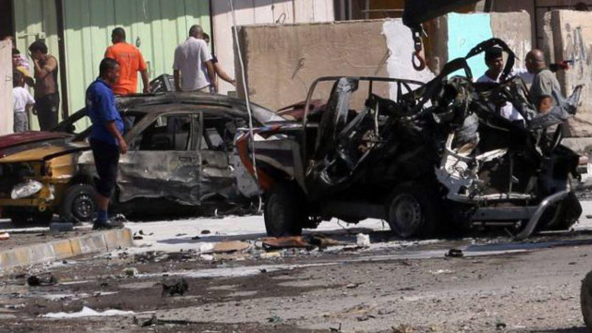 Ola de atentados terrorista deja 26 muertos en Bagdad