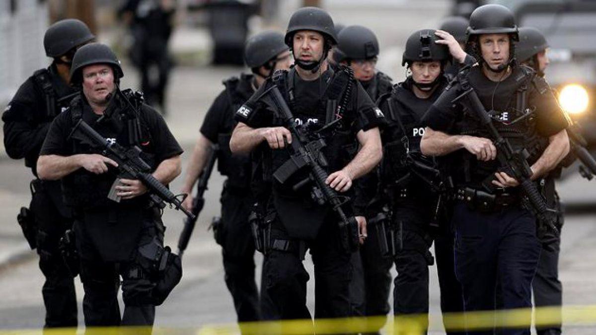Policía tendría rodeado a sospechoso de atentado en Boston