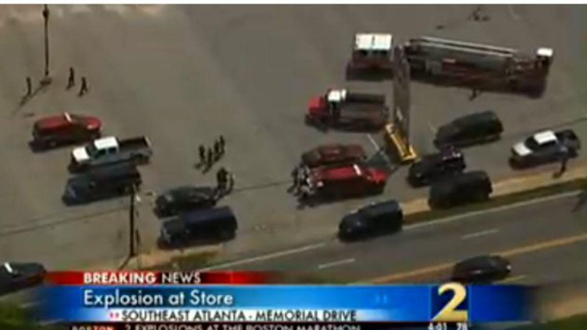 EE.UU.: Un herido tras explosión en Atlanta