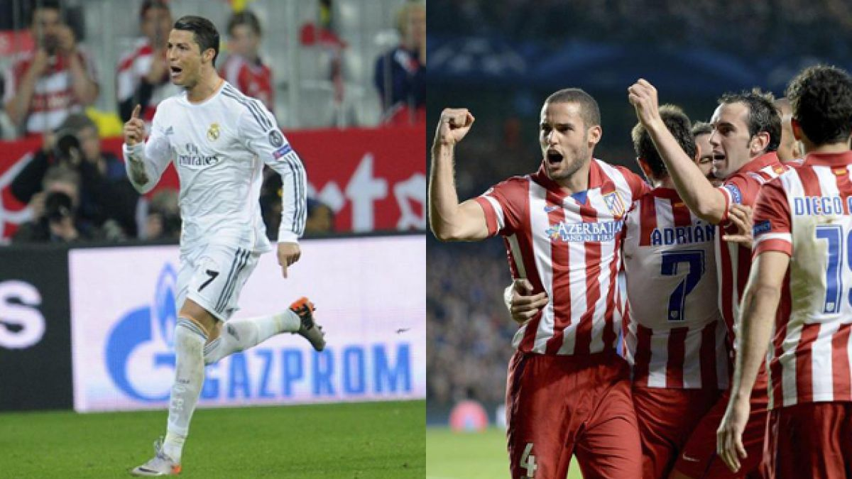Final de la Liga de Campeones: El frente a frente entre Real Madrid y Atlético de Madrid