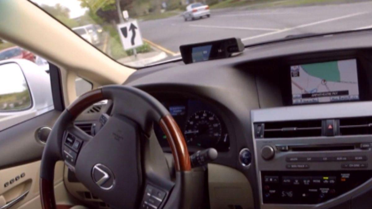 VIDEO: Auto de Google que se maneja solo ya circula por las calles