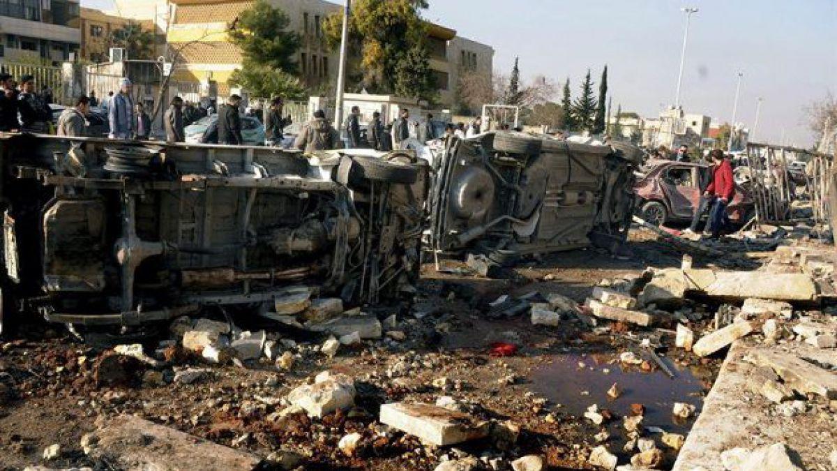 Al menos 82 muertos por atentado en Universidad de Alepo
