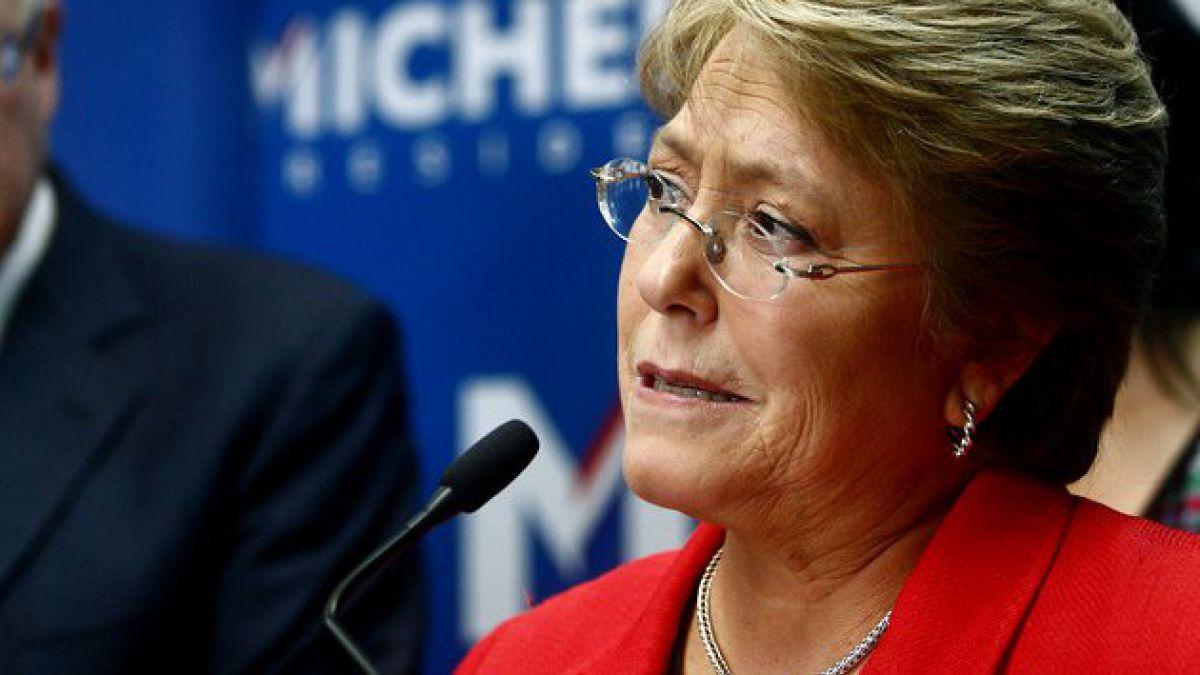 Michelle Bachelet desestima críticas por primeras medidas