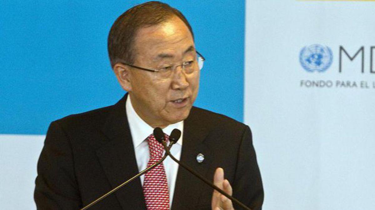 Ban Ki-moon dice que informe ONU confirmará uso de armas químicas en Siria