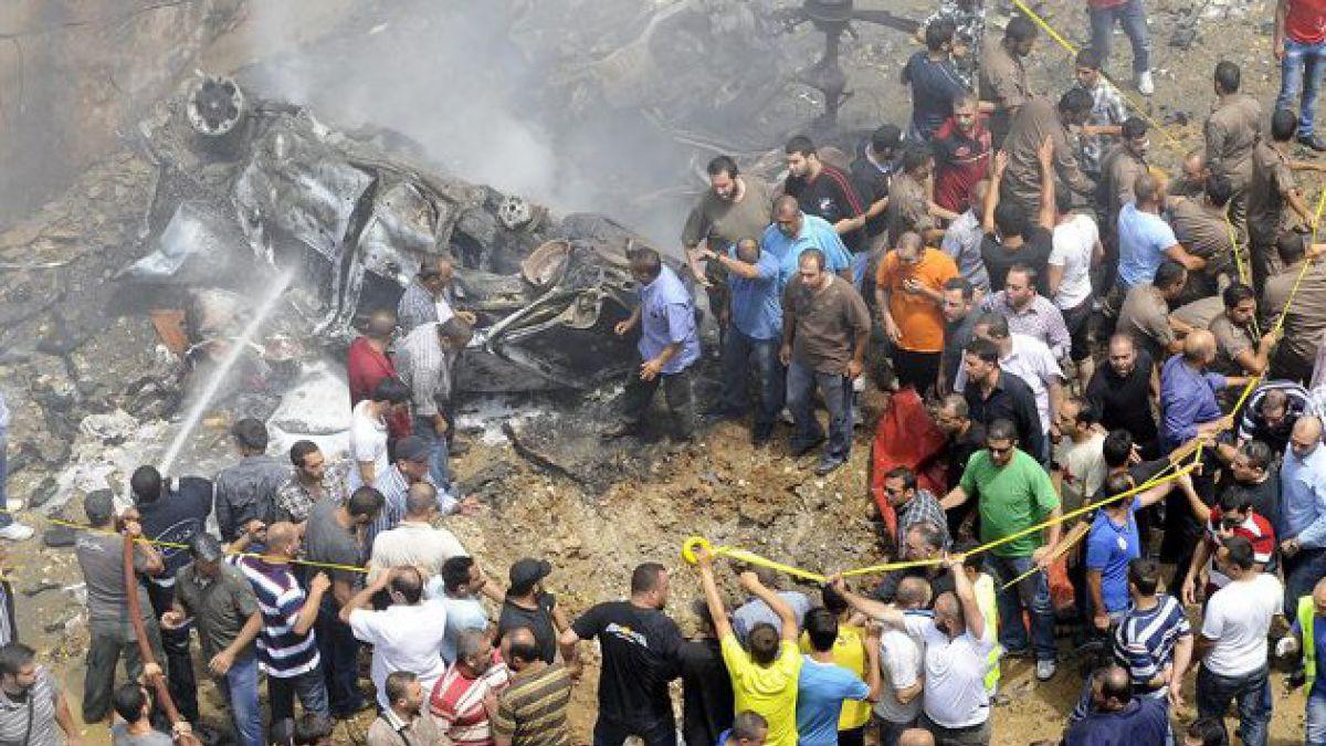 Atentado explosivo en Líbano deja más de 50 heridos