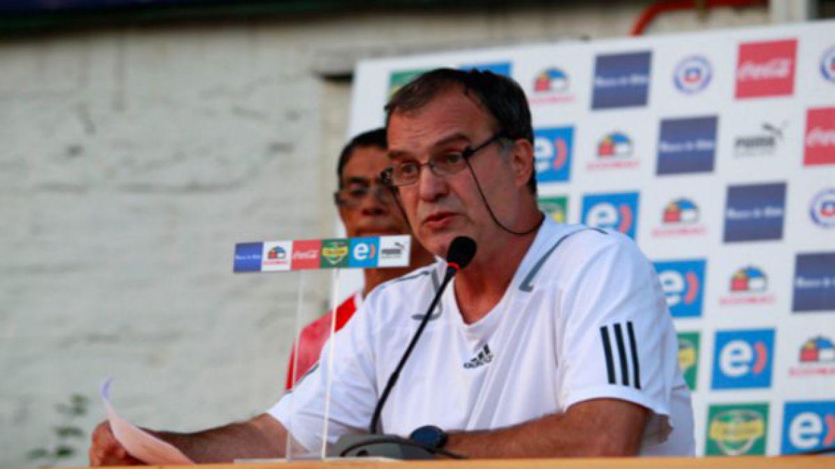 Incertidumbre por posible renuncia de Marcelo Bielsa