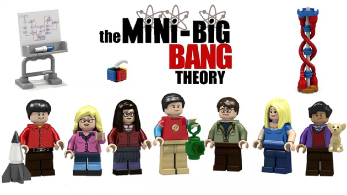 "Los personajes de ""The Big Bang Theory"" podrían transformarse en Lego"