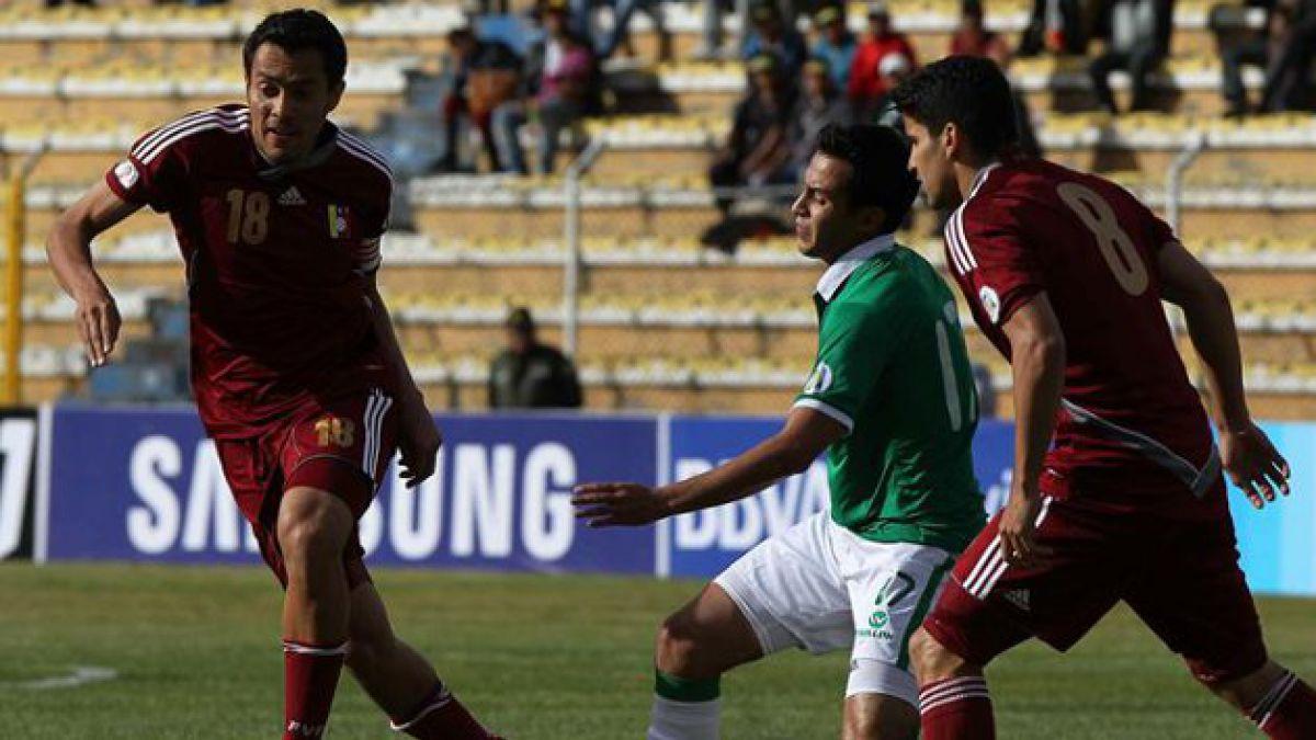 Eliminatorias: Venezuela igualó con Bolivia