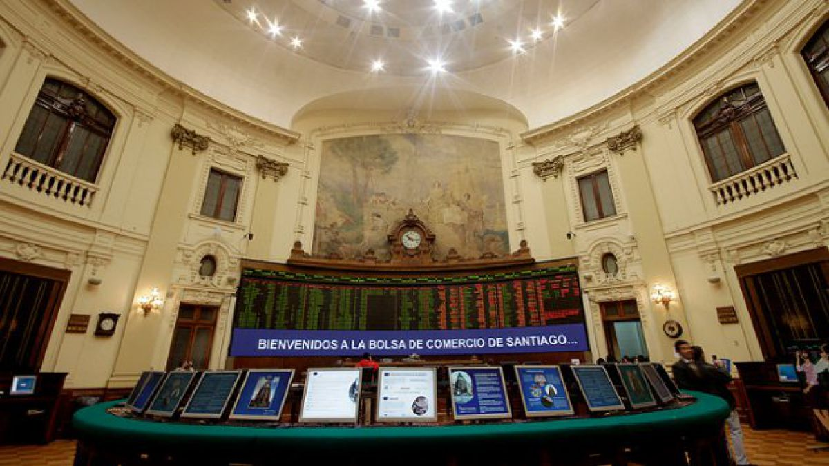 Bolsa chilena presenta su mejor registro semanal desde junio de 2013