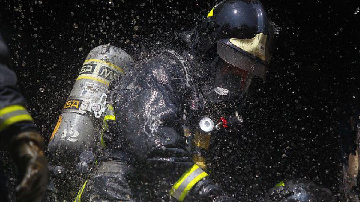 Incendio en la comuna de San Ramón deja un muerto