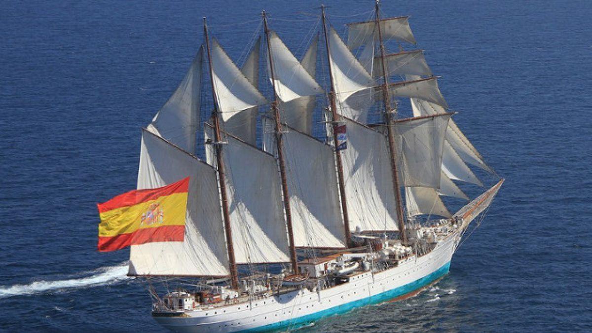 Encuentran 127 kilos de cocaína en buque escuela  de la Armada española