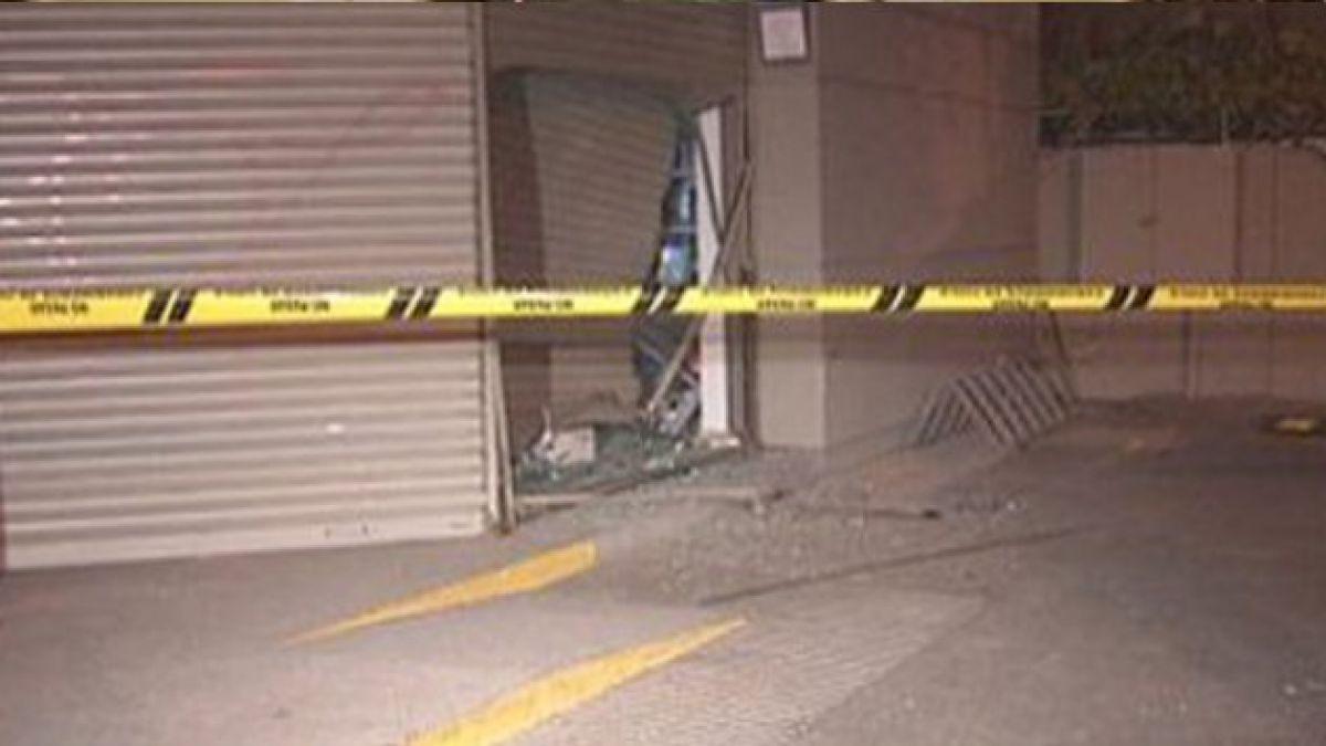 Frustran robo de cajero automático y detienen a 2 personas en La Serena