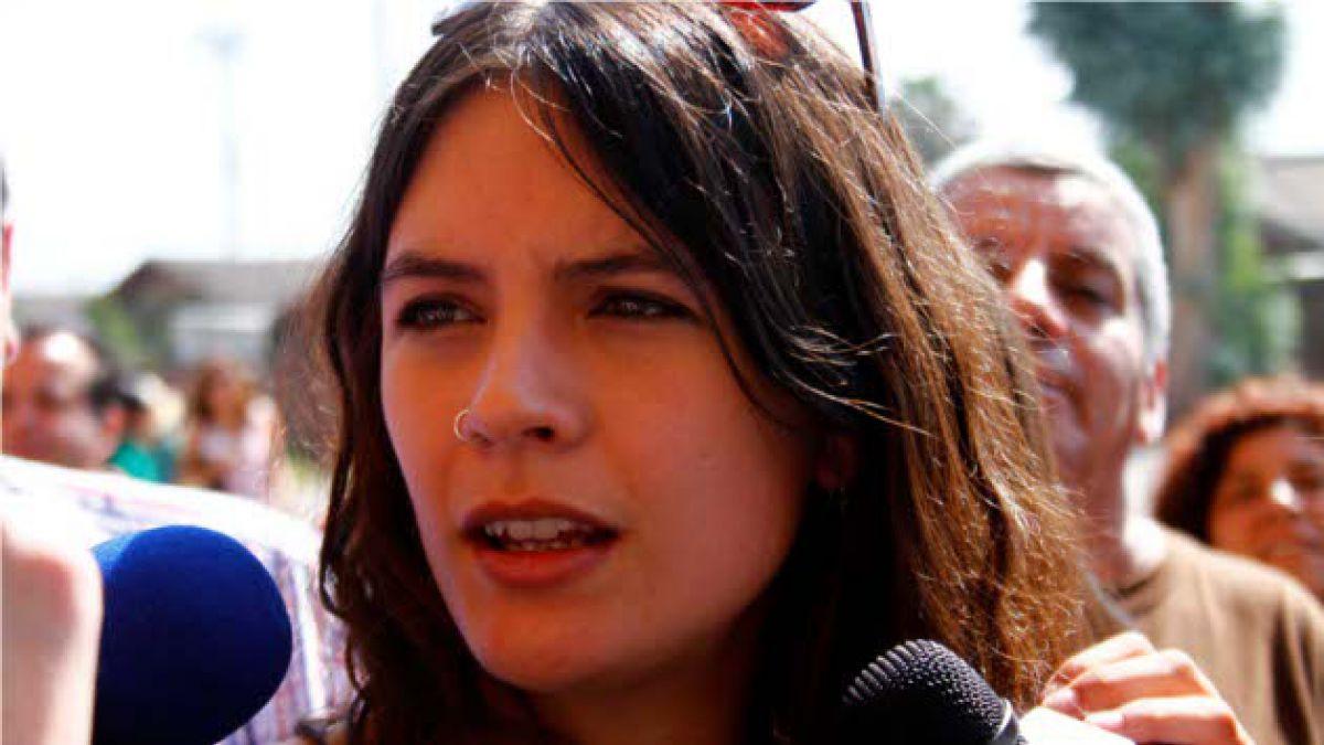 Camila Vallejo: En educación, la DC defiende la libertad de empresa