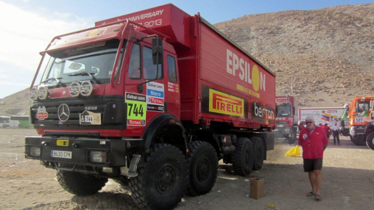 Condenan a prisión a director de equipo del Dakar por camión encontrado con drogas