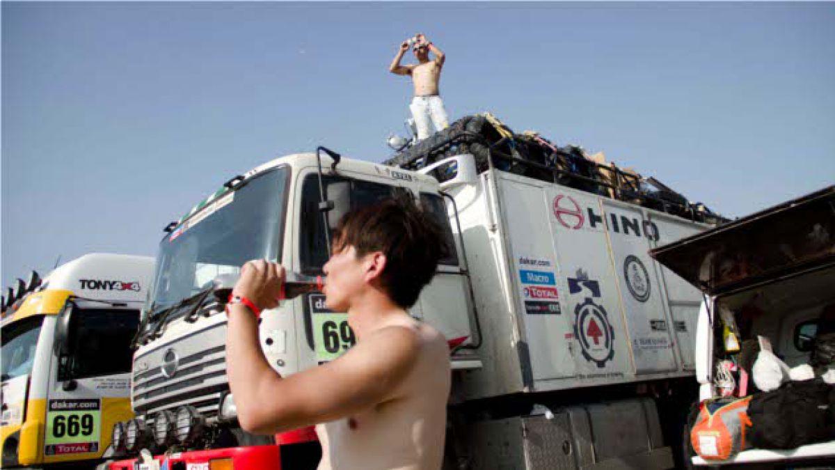 Encuentran cocaína en camión del Dakar que salió de Chile